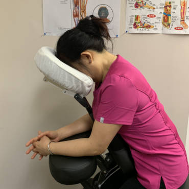 Foot & Chair Back Massage